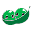 Two Peas Logo