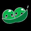 Two Peas Logo