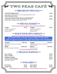 Picture of Breakfast Menu PG 1